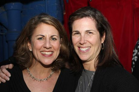 Peri Smilow and Laura Siegel, Peri Smilow's business manager