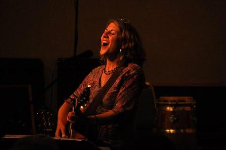 Peri Smilow singing